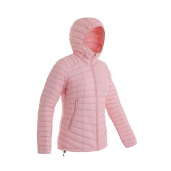 Women's Mountain Trekking Down Jacket - TREK 100 -5°C - Pink
