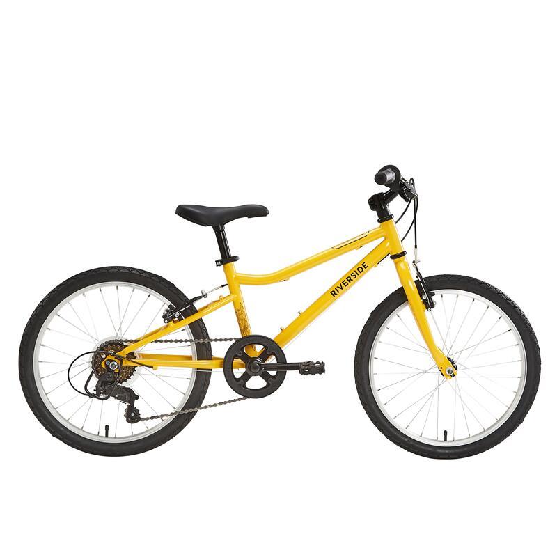 "Kids' 6-9 Years 20"" Hybrid Bike Riverside 120"