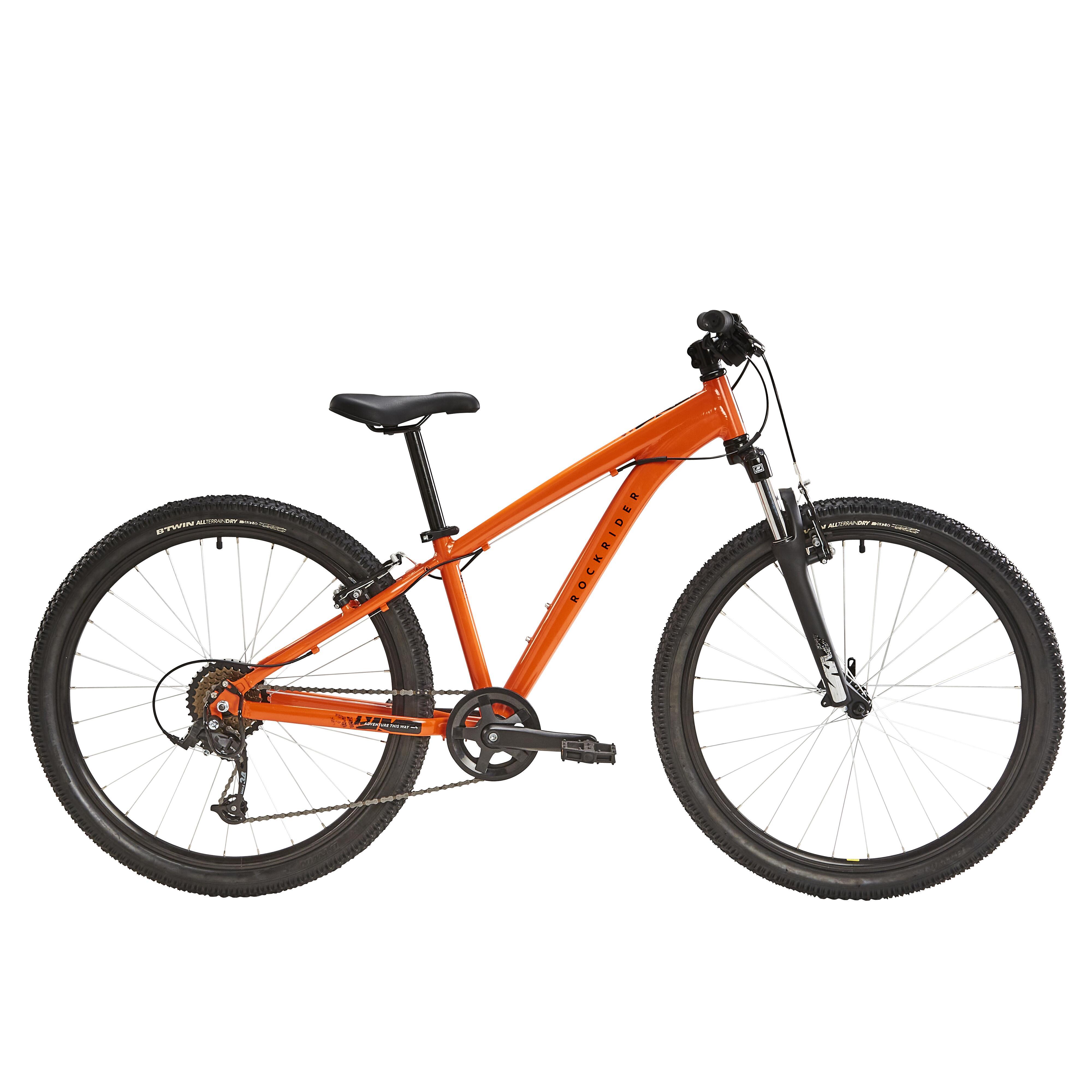 """MTB 26"""" Rockrider ST 500 Kinder orange"""