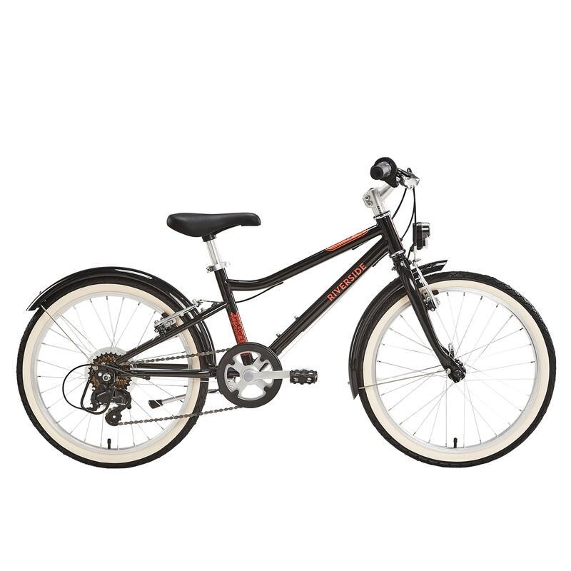 "Kids' 6-9 Years 20"" Hybrid Bike Riverside 500"