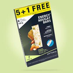 Energiereep nougat Promotie 5x25g + 1 gratis