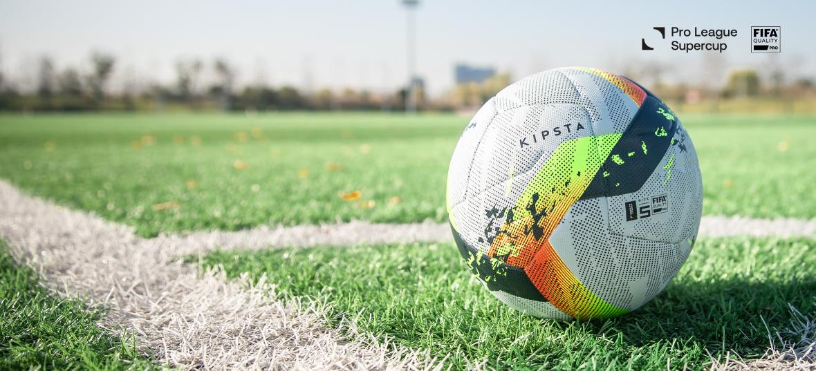 Kipsta partenaire technique de la Pro League Supercup