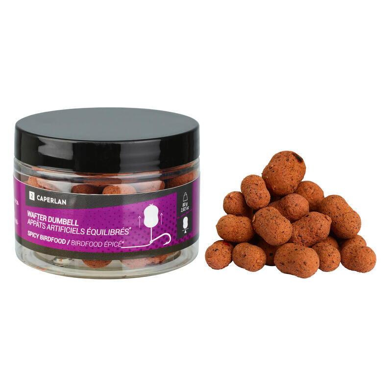 Boilies Dumbel wafter Spicy Birdfood pescuit la crap
