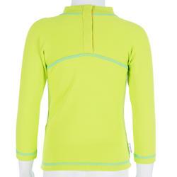 Thermisch en uv-werend shirt met lange mouwen voor peuters blauw gestreept - 209080