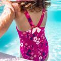 PLAVKY PRO NEJMENŠÍ Plavání - DĚTSKÉ PLAVKY RŮŽOVÉ NABAIJI - Plavky do bazénu