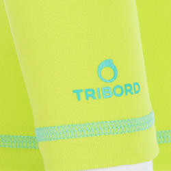 Thermisch en uv-werend shirt met lange mouwen voor peuters blauw gestreept - 209084