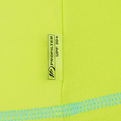 Thermisch en uv-werend shirt met lange mouwen voor peuters blauw gestreept - 209088