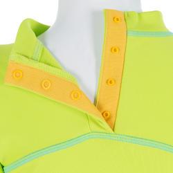 Thermisch en uv-werend shirt met lange mouwen voor peuters blauw gestreept - 209089