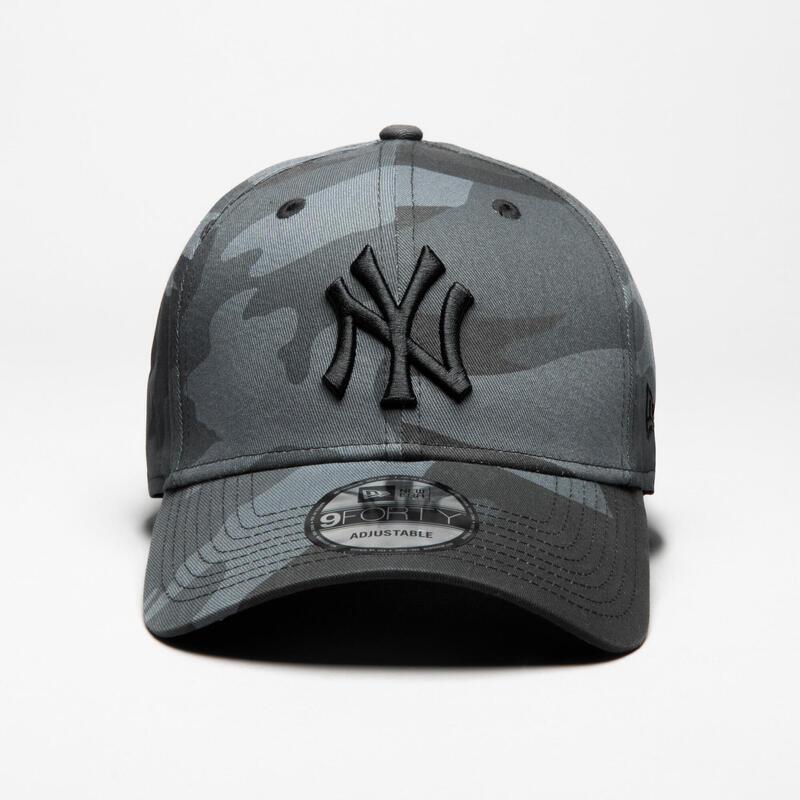 Şapcă Baseball 9Forty New York Yankees Gri Adulți