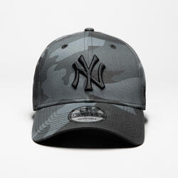 BONÉ DE BASEBOL ADULTO MLB 9FORTY NEW YORK YANKEES CINZENTO CAMUFLADO