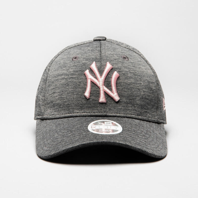 CASQUETTE DE BASEBALL MLB ADULTE NEW ERA 9FORTY NEW YORK YANKEES GRIS ROSE