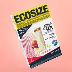 Barra de cereais cobertura ECOSIZE sabor chocolate frutos vermelhos 10x30 g