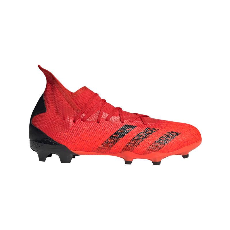 Voetbalschoenen voor volwassenen Predator Freak .3 FG rood