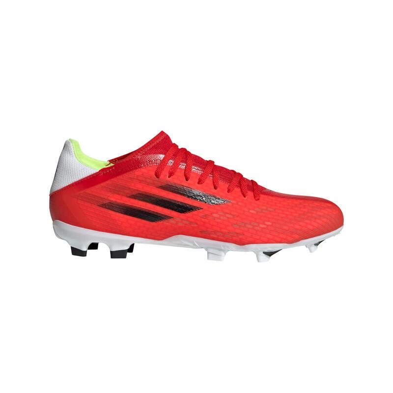 Voetbalschoenen voor volwassenen X .3 FG rood