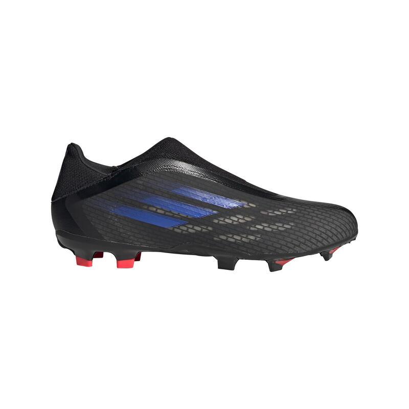 CHAUSSURES DE FOOTBALL ADULTE X.3 SPEEDFLOW LACELESS FG NOIR