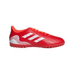 Scarpe calcio-calcetto bambino COPA .4 HG rosse
