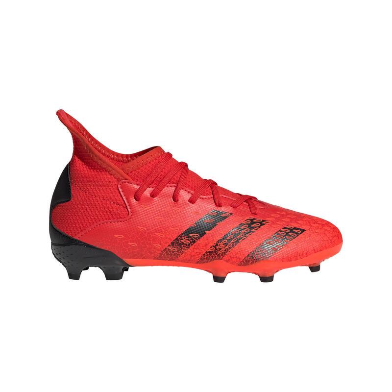 Voetbalschoenen voor kinderen Predator Freak .3 FG rood