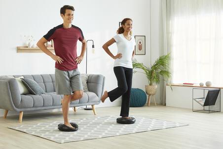 100 Pilates Stretching Inflatable Balance Cushion