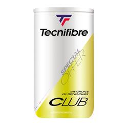 Bola de Ténis Clube Amarelo (Conjunto de 2 tubos de 4 bolas)