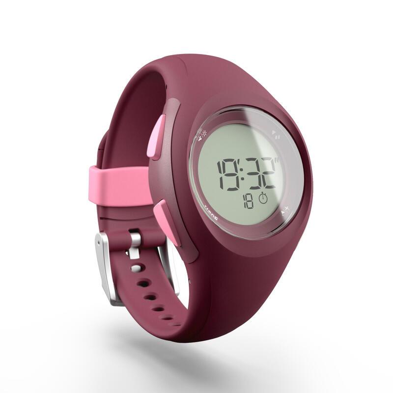 Montre chronomètre de course à pied W200 S violette