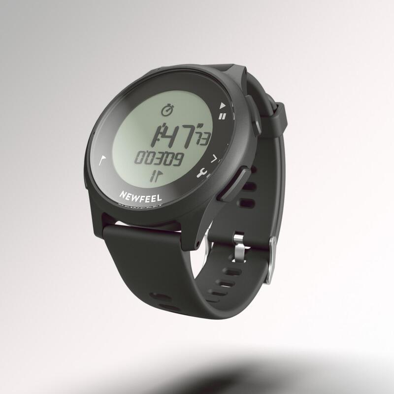Reloj Cronómetro Niño y Adulto ATW100 S Negro