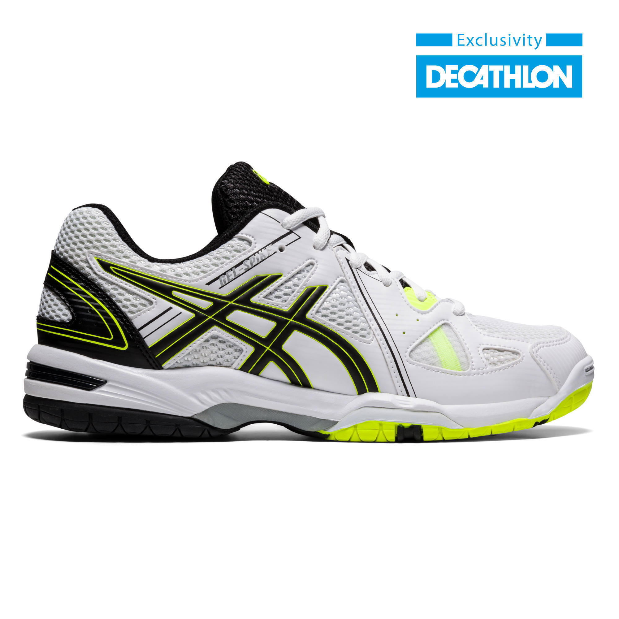 Chaussures de volley-ball Asics homme Gel Spike blanches, noires ...