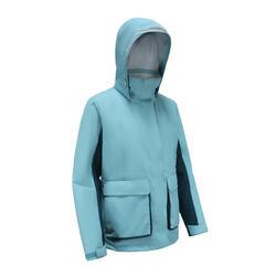 女款航海保暖外套 300 - 藍