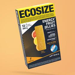 Pasta de fruta ENERGY FRUIT JELLIES ECOSIZE citrinos 12 x 25g