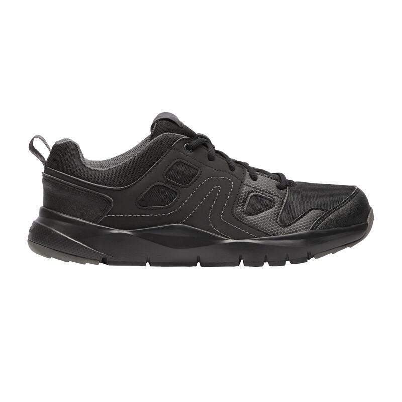 Sneakers voor sportief wandelen heren HW 100 zwart