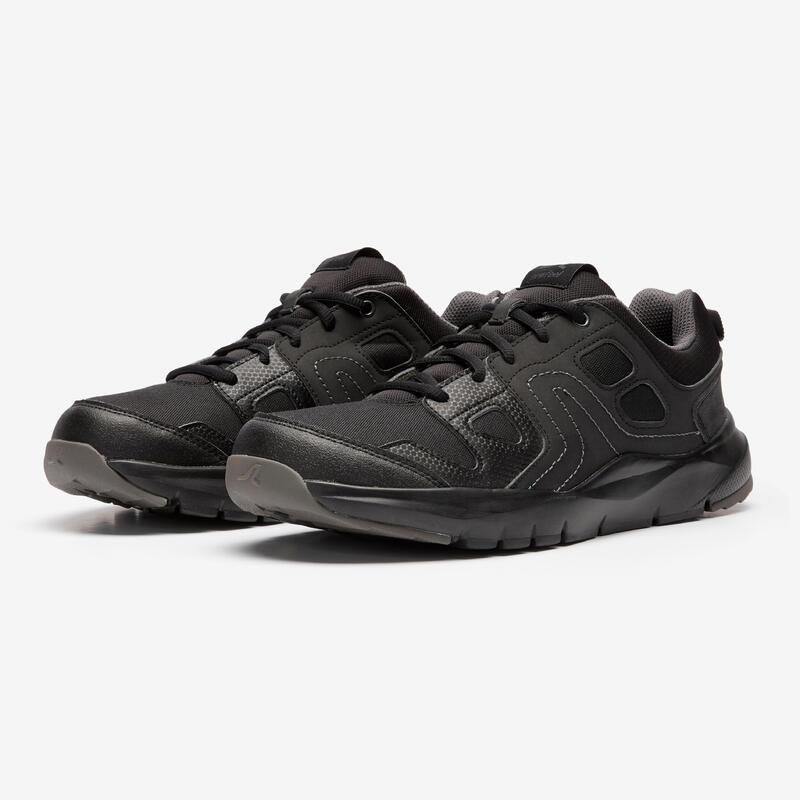 HW 100 Men's Fitness Walking Shoes - Black