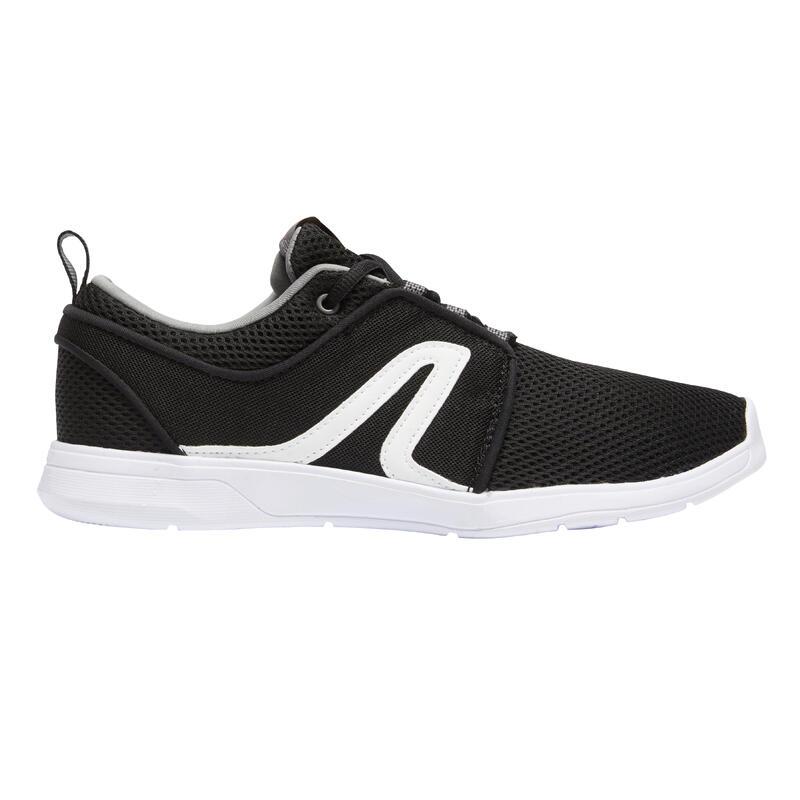 Chaussures marche urbaine homme Soft 140 Mesh noir / blanc