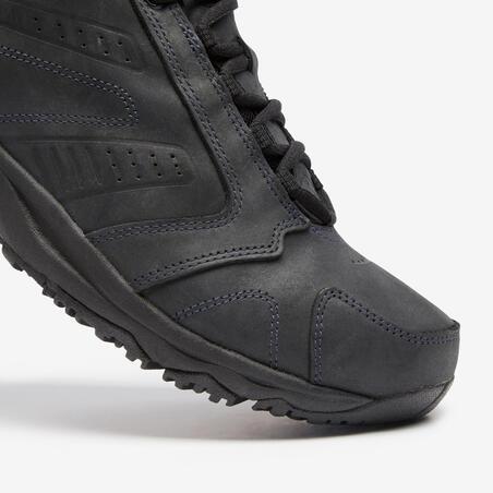 Nakuru Waterproof Men's Urban Waterproof Walking Shoes - Black Leather