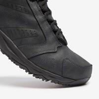 """Vīriešu ūdensnecaurlaidīgi fitnesa soļošanas apavi """"Nakuru"""", ādas, melni"""