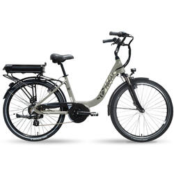 Vélo Ville électrique Neomouv Kalyso gris