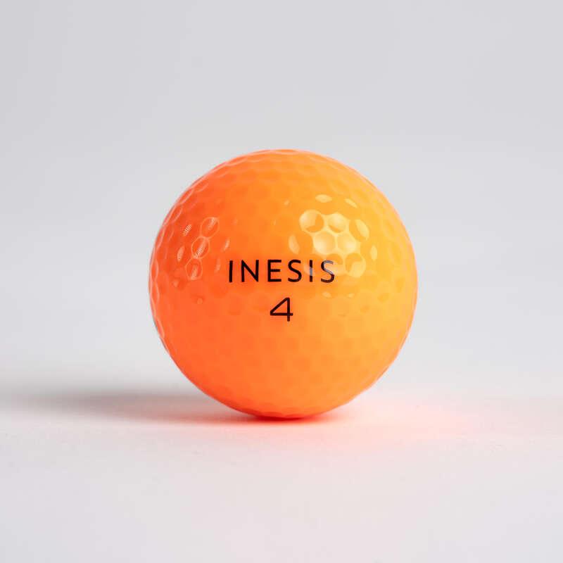 Golfbälle Golf - Golfbälle Soft 500 12 Stück INESIS - Zubehör