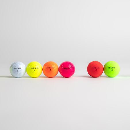 Balle de golf SOFT 500 X12 rose
