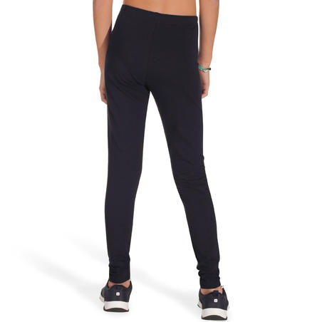 Girls' Fitness Leggings - Black
