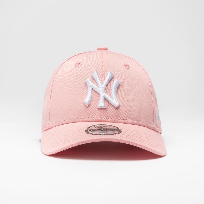 CASQUETTE DE BASEBALL MLB ENFANT NEW ERA 9FORTY NEW YORK YANKEES ROSE/BLANCHE