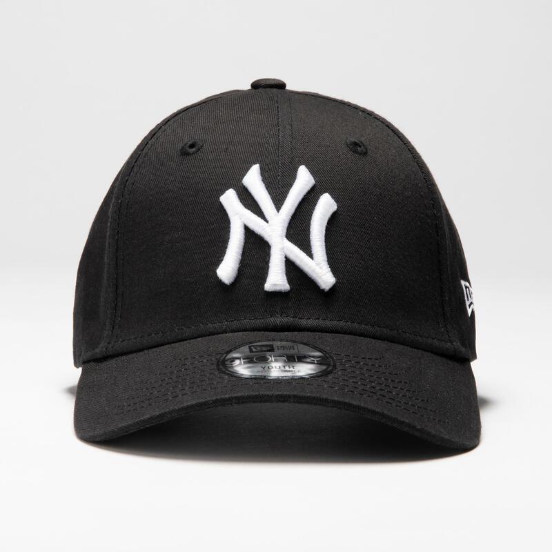 Şapcă Baseball 9Forty New York Yankees Negru-Alb Adulți