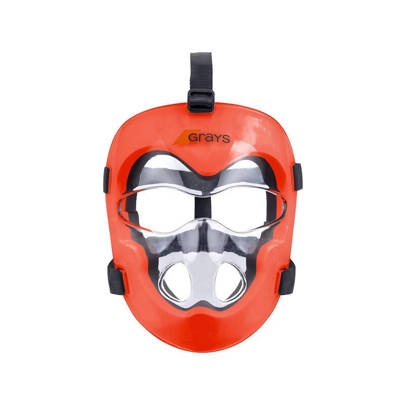 Kids' All-Intensity PC Field Hockey Mask Grays - Clear