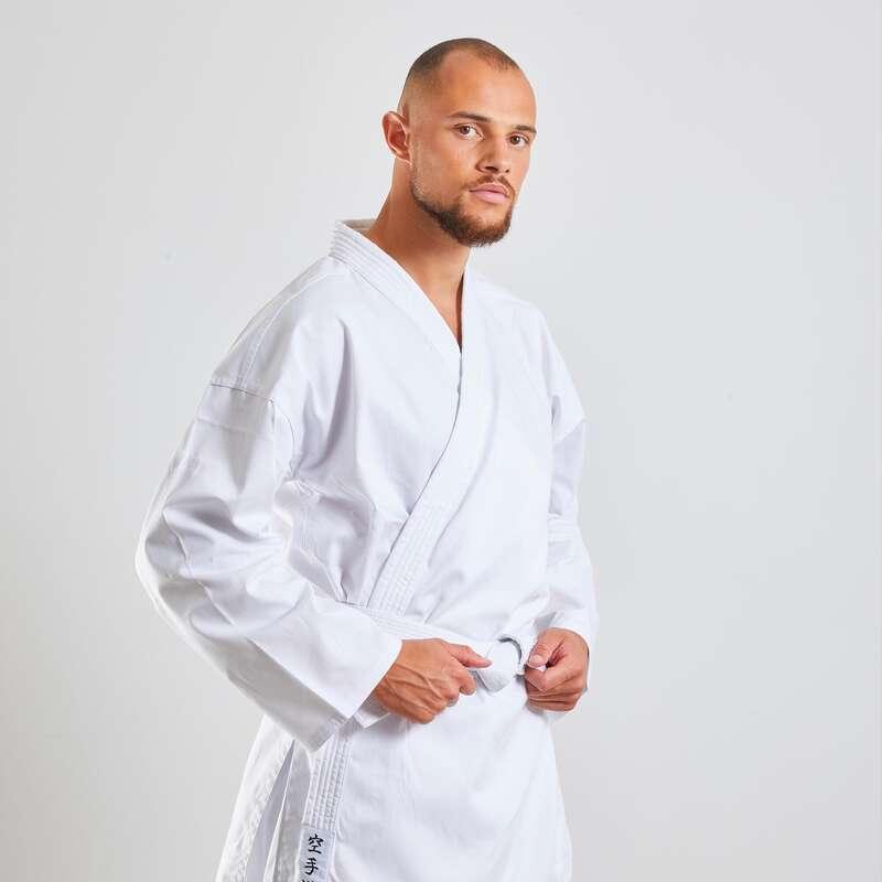 KARATE Kampsport - Karatedräkt 100 vuxen OUTSHOCK - Karate