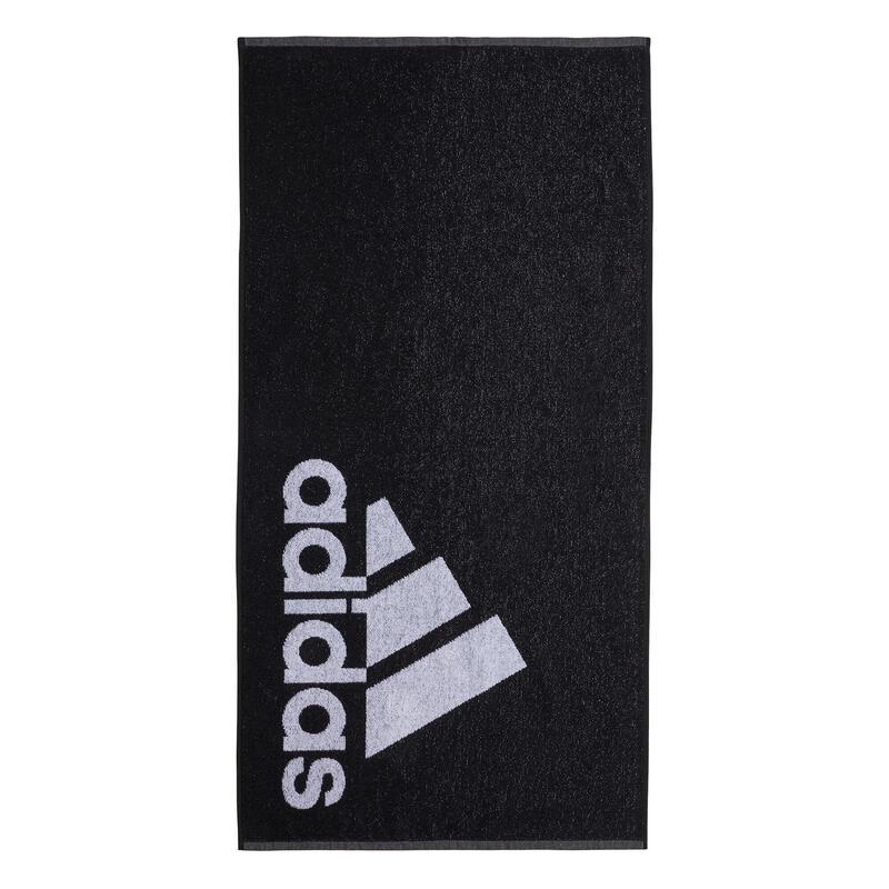 Serviette Adidas Fitness noire 50 x 100 cm