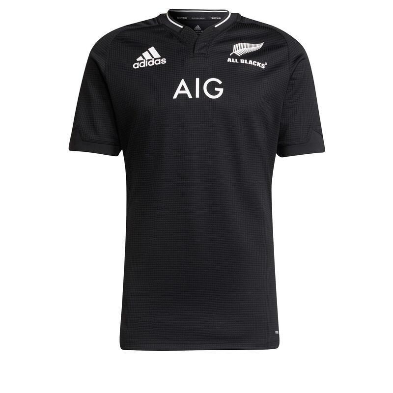 Maillot de rugby Adidas All Blacks replica Nouzelle-Zélande 2021 noir adulte