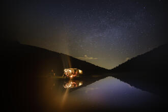 Camping en montagne pour observer les Perséides