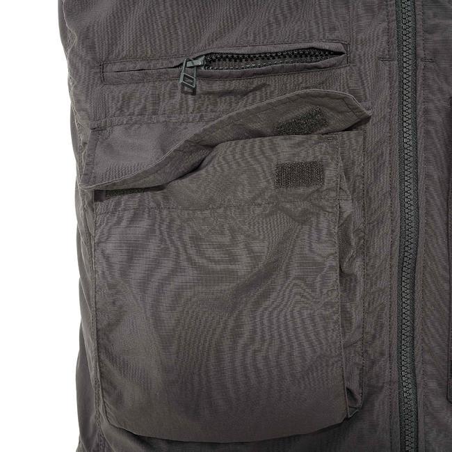 Men's Gilet Travel 100 - Dark Grey