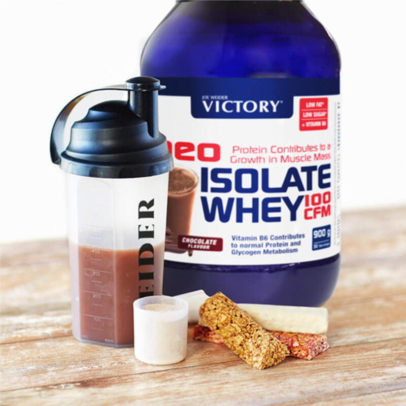 Proteína Isolada Victory Neo Isolate Whey 900 gr. Varios Sabores
