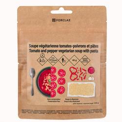 Sopa Liofilizada Vegetariana para Trekking Tomates Pimentos Massas 65 g