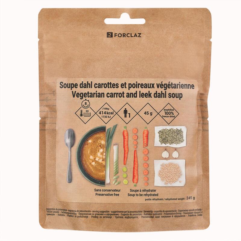 Supă de moercovi liofilizată 65 g