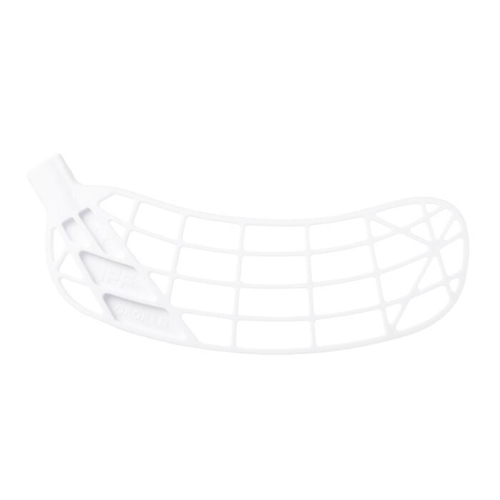 Palette de floorball droite blanche
