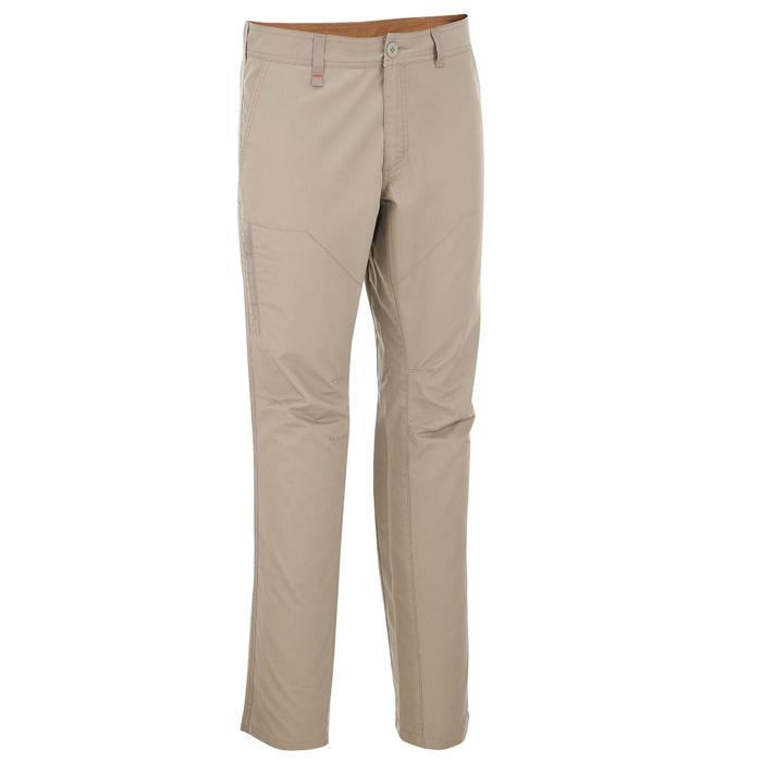 Pantalon randonnée nature homme NH500 gris foncé - 210134